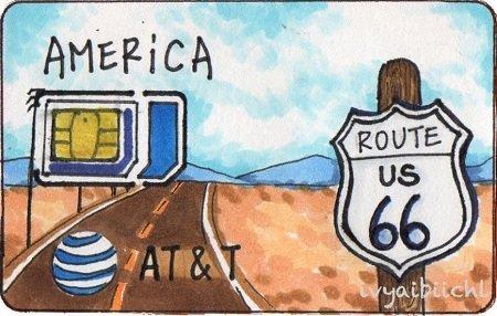 Jason'sTrip傑旅通訊-美國AT&T預付卡